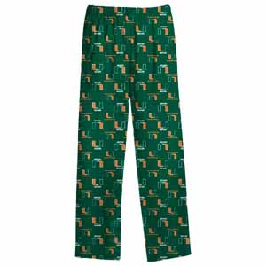 Miami YOUTH Logo Pajama Pants - Large