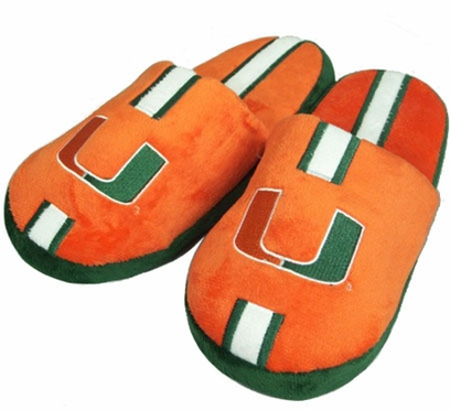 Miami YOUTH Team Stripe Slide Slippers