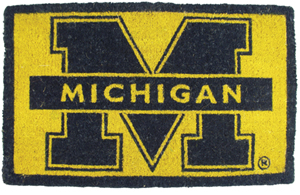 Michigan 18x30 Bleached Welcome Mat