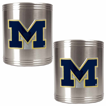 Michigan 2 Can Holder Set