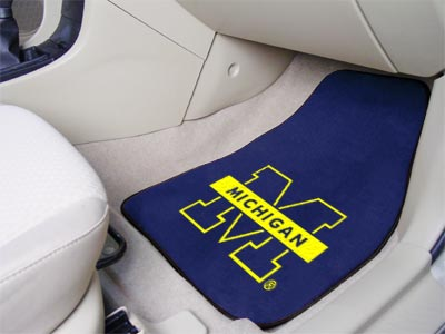 Michigan 2 Piece Car Mats