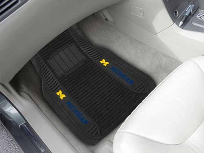 Michigan 2 Piece Heavy Duty DELUXE Vinyl Car Mats