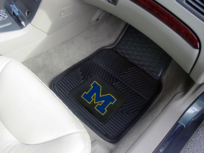 Michigan 2 Piece Heavy Duty Vinyl Car Mats