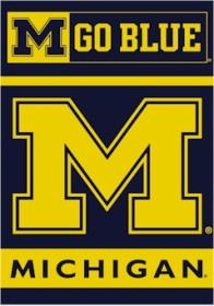 Michigan 2 Sided Banner (P)