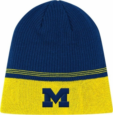 Michigan 2011 Sideline Cuffless Coaches Knit Hat Beanie