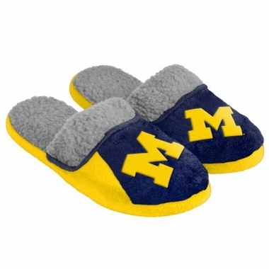 Michigan 2012 Sherpa Slide Slippers