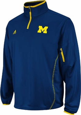 Michigan 2012 Sideline 1/4 Zip Climalite Jacket