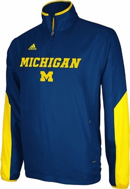 Michigan 2012 Sideline 1/4 Zip Pullover Hot Jacket