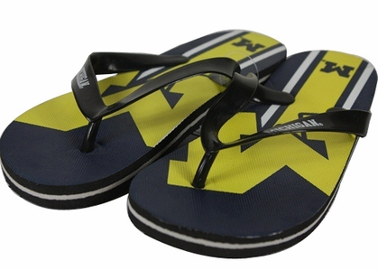 Michigan 2012 Unisex Big Logo Flip Flops