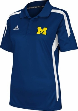 Michigan 2012 Womens Sideline Performance Polo Shirt