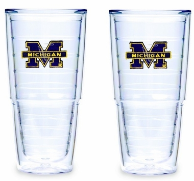 Michigan 24 Set of TWO 24 oz. Tervis Tumblers