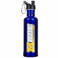 Michigan 26oz Stainless Steel Water Bottle (Team Color)