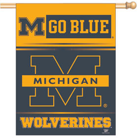 "Michigan 27"" x 37"" Banner"