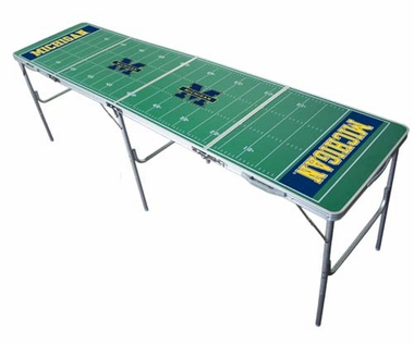 Michigan 2x8 Tailgate Table