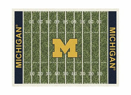 "Michigan 3'10"" x 5'4"" Premium Field Rug"