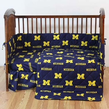 Michigan 5 piece Baby Crib Set