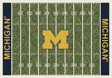 "Michigan 7'8"" x 10'9"" Premium Field Rug"