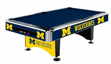 Michigan 8 Foot Pool Table