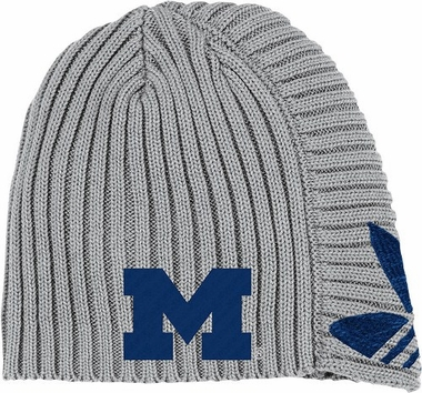 Michigan Adidas Retro Cuffless Knit Hat