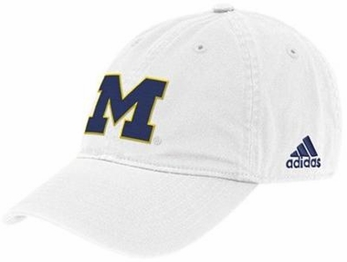 Michigan Adjustable Slouch Hat (White)