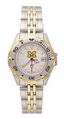 Michigan All Star Womens (Steel Band) Watch