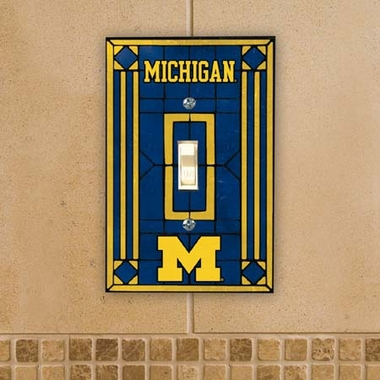 Michigan Art Glass Lightswitch Cover
