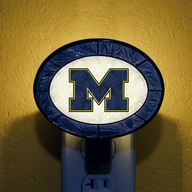 Michigan Art Glass Night Light