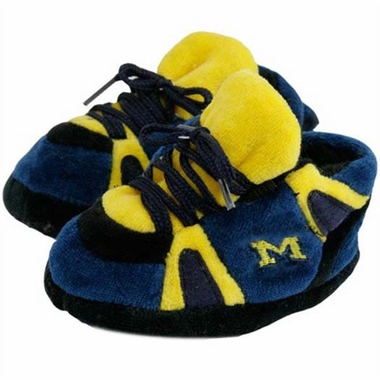 Michigan Baby Slippers