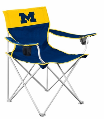 Michigan Big Boy Adult Folding Logo Chair