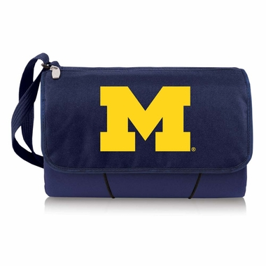 Michigan Blanket Tote (Navy)