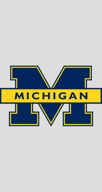 Michigan Blue Logo Fathead Wall Graphic