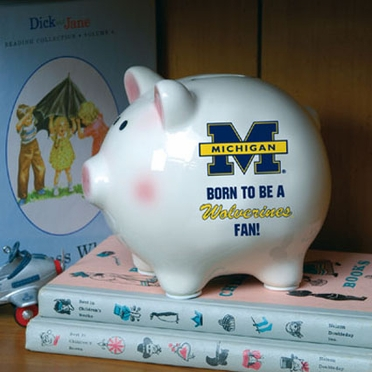Michigan (Born to Be) Piggy Bank