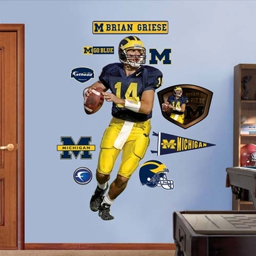 Michigan Brian Griese Fathead Wall Graphic