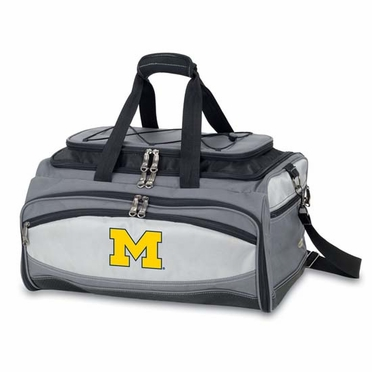 Michigan Buccaneer Tailgating Embroidered Cooler (Black)