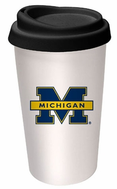 Michigan Ceramic Travel Cup