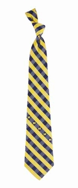 Michigan Check Poly Necktie