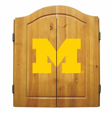 Michigan Complete Dart Cabinet
