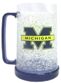 Michigan Crystal Freezer Mug