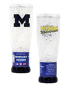 Michigan Crystal Pilsner Glass