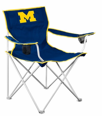 Michigan Deluxe Adult Folding Logo Chair