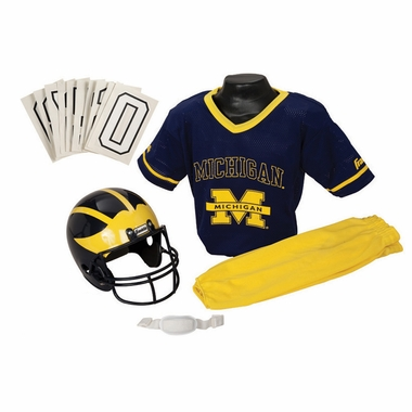 Michigan Deluxe Youth Uniform Set
