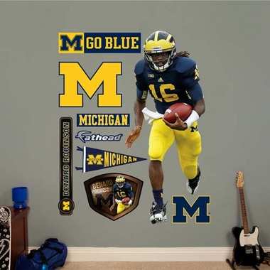 Michigan Denard Robinson Fathead Wall Graphic