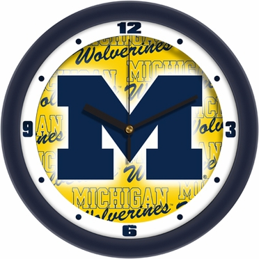 Michigan Dimension Wall Clock