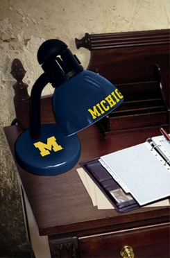 Michigan Dorm Lamp