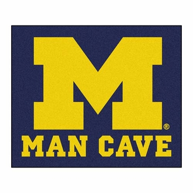 Michigan Economy 5 Foot x 6 Foot Man Cave Mat