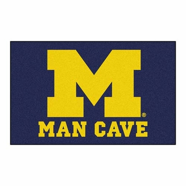Michigan Economy 5 Foot x 8 Foot Man Cave Mat