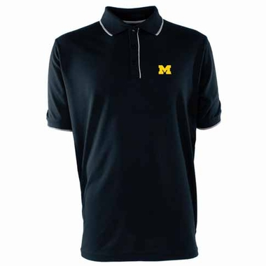 Michigan Mens Elite Polo Shirt (Color: Navy)