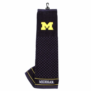Michigan Embroidered Golf Towel