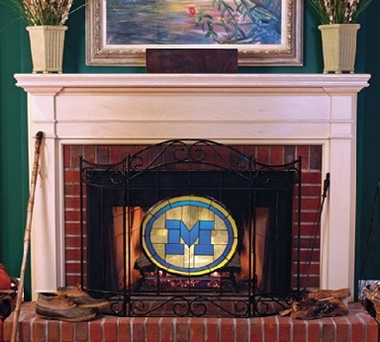 Michigan Fireplace Screen