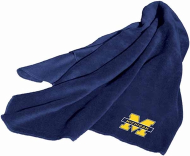 Michigan Fleece Throw Blanket